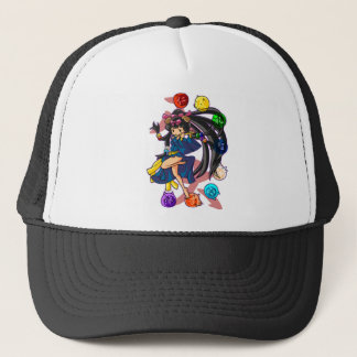 Eight 狗 God 伏 princess English story Nanso Chiba Trucker Hat