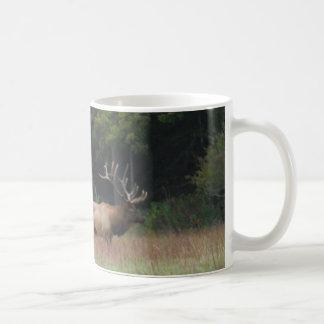 Eight 8 Point Bull Elk in Autumn Mug