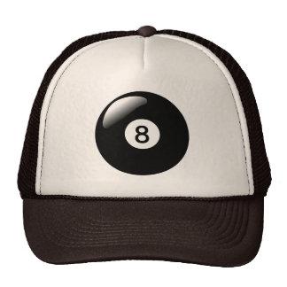 Eight Ball 8 Ball Pool Billiards Trucker's Hat