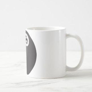Eight Ball Basic White Mug