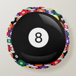 Eight Ball Billiards Round Cushion