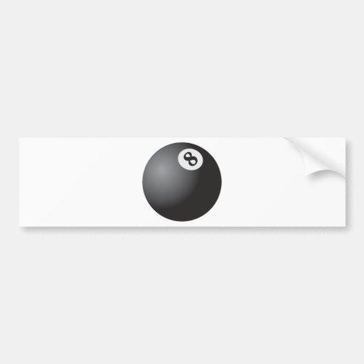 Eight Ball Bumper Sticker