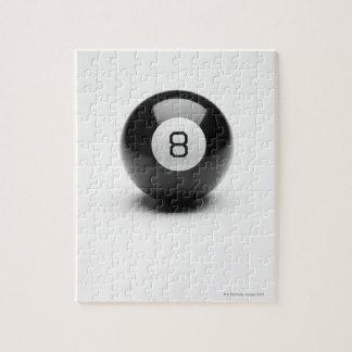 Eight ball jigsaw puzzle