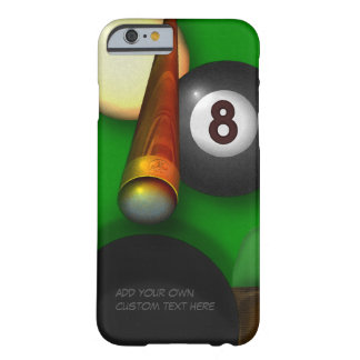 Eight Ball Pool and Billiards Barely There iPhone 6 Case
