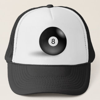 Eight Ball Trucker Hat