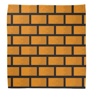 Eight Bit Brick Wall Head Kerchief