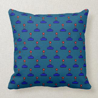 Eight Bit Joystick Blue TP Throw Pillow