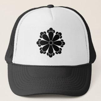 Eight cloves trucker hat