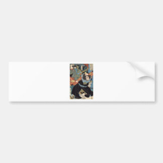 Eight Hundred Heroes of Our Country by Utagawa Bumper Sticker