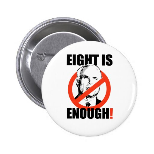 EIGHT IS ENOUGH BUTTON