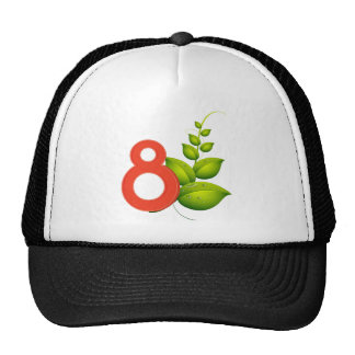 Eight leaves cap