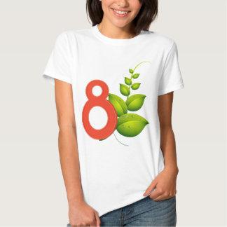 Eight leaves shirt