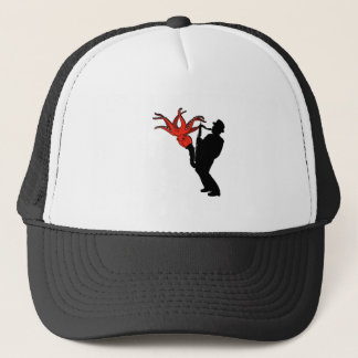 Eight Legged Melody Trucker Hat