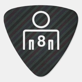 Eight Mans Minimal Guitar Pick