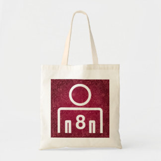 Eight Mans Minimal Budget Tote Bag
