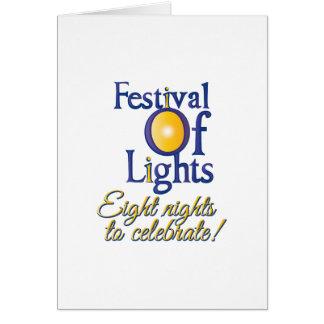 Eight Nights Card
