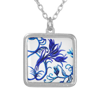 Eight of March Art3 Silver Plated Necklace