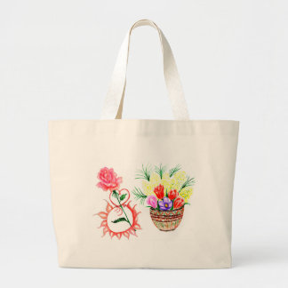 Eight of March Art Large Tote Bag