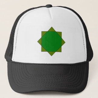 eight pointed star islam religion Buddhism Melchiz Trucker Hat