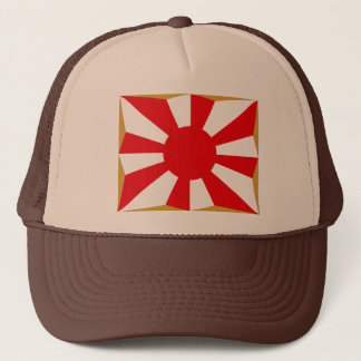 Eight provision Asahi day flags Trucker Hat