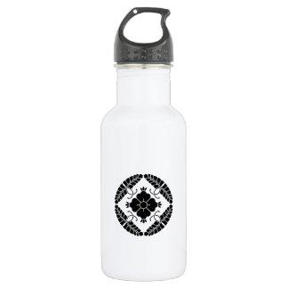 Eight rattan 532 ml water bottle