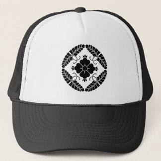 Eight rattan trucker hat