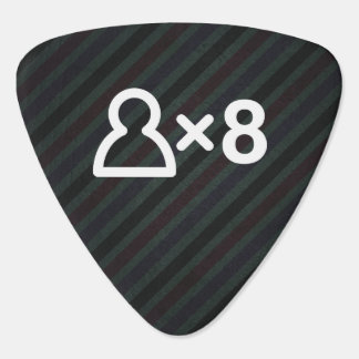 Eight Times Icon Guitar Pick