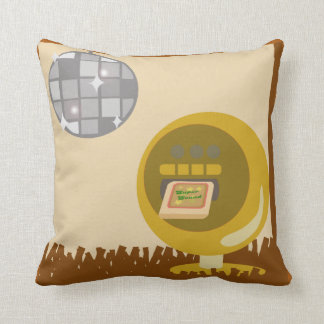 Eight Track Disco Time Cushion