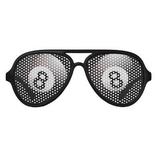 Eightball Eyes Aviator Sunglasses