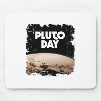 Eighteenth February - Pluto Day - Appreciation Day Mouse Pad