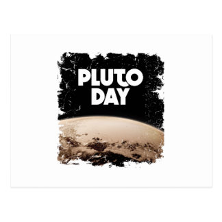 Eighteenth February - Pluto Day - Appreciation Day Postcard