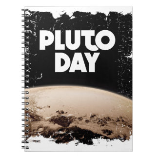 Eighteenth February - Pluto Day - Appreciation Day Spiral Notebook