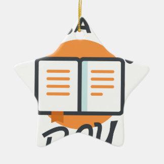 Eighteenth January - Thesaurus Day Ceramic Ornament
