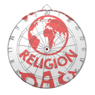 Eighteenth January - World Religion Day Dart Boards
