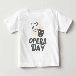 Eighth February - Opera Day - Appreciation Day Baby T-Shirt