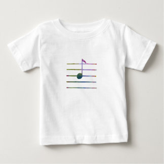 Eighth Note Baby T-Shirt
