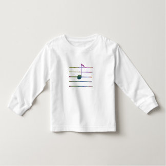 Eighth Note Toddler T-Shirt