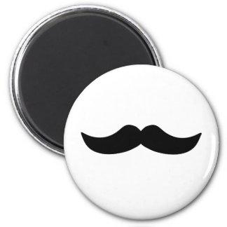 Eighties Mustache Refrigerator Magnets