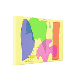 Eighty Percent Gallery Wrapped Canvas