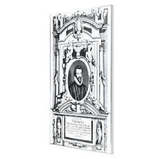Eighty Sermons Preached by that Learned Canvas Print