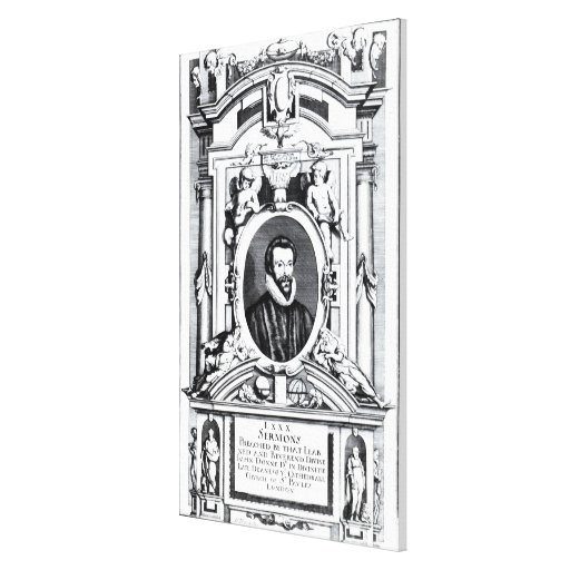 'Eighty Sermons Preached by that Learned Canvas Print