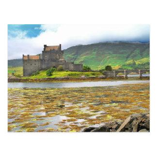 Eilean Donan Castle colour Postcard