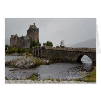 Eilean Donan Castle, Highlands Scotland Card