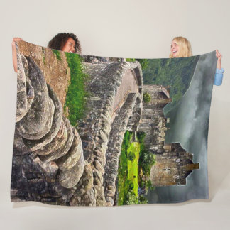 Eilean Donan Castle, Scotland Acrylic Art Fleece Blanket