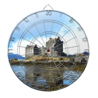 'Eilean Donan Castle' - Scotland Dartboard