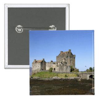 Eilean Donan Castle, Scotland. The famous Eilean 3 15 Cm Square Badge