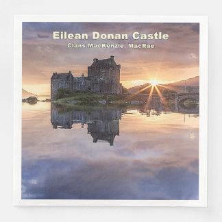 Eilean Donan – MacKenzie/MacRae Disposable Napkin