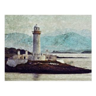 Eilean Musdile Lighthouse Postcard