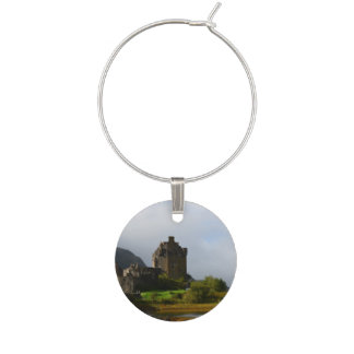 Eileen Donan Castle in Early Autumn Wine Charms