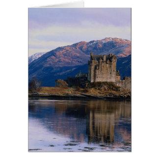 Eileen Donan Castle, Loch Duich, Scotland Card
